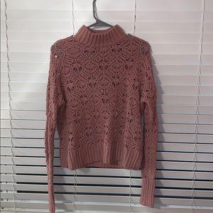 American eagle turtleneck sweater